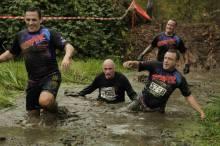 Muddy trench